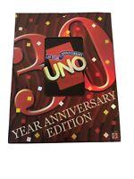 UNO 30th Anniversary card game - Mattel 2001 - 100% COMPLETE