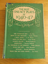 1948 THE BEST ONE-ACT PLAYS OF 1946-47 Selected by J.W. Marriott 1st Edition
