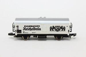 Z Scale Marklin 8604 KULMBACHER Reichelbrau Reefer Beer Car