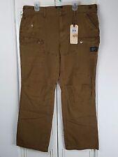 Men's Alpha Industries Sz 40 Survivor Cargo Pants Flat Front Almond Brown
