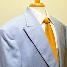Jack Simpson Couture | Bespoke Pale Blue Sport Coat – Size 46L