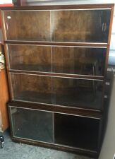 Vintage Mid Century Modern Bookcase / Cabinet By Minty Library Specialist Oxford