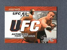 2009 Topps UFC Fight Mat Relics #FMJN Josh Neer C UFC 094