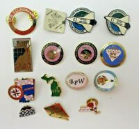Business and Professional Womens BPW Pins Pinbacks LOT 15 Ct IN MN MI NV