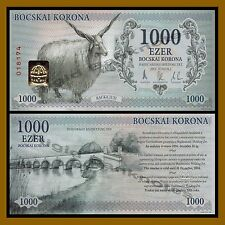 2,000 2012 Hungary 2000 Flamingo// Horse Unc Bocskai Korona local Money