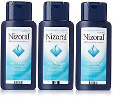 3 Pack Nizoral A-D Anti-Dandruff Ketoconazole 1% Shampoo - 7 oz (200 mL)