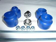 HUSABERG FE TE FS FX FRONT REAR AXLE CRASH MUSHROOMS SLIDERS  PROTECTOR BLUE S1I
