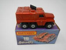 Repro Box Matchbox Superfast Nr.16 Rolamatics Badger