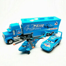 Disney Pixar Cars #43 King Dinoco Helicopter Truck Diecast Model Toy Kids Gift