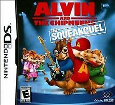 NEW / SEALED Alvin and the Chipmunks: The Squeakquel (Nintendo DS, 2009)