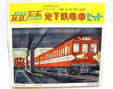 Yonezawa Japan Passenger Train Set HO Tin Battery Powered No. 200 #104