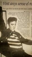 Elvis Presley. Cutting clip.