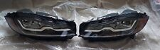2016-2018 Jaguar XF F-Pace Right And Left LED Headlights OEM GX63-13W029/030-MB