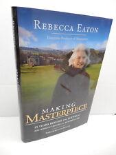 Making Masterpice Book Rebecca Eaton Memoir 25 Years Behing The Scenes Mystery!