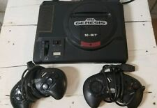 SEGA Genesis 16 Bit Console with 2 Controllers (power supply & cords included)