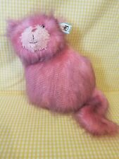 "Jelly Cat Papyrus The Pink & Purple Cat Plush 20"" Rare New Stuffed Animal"