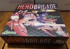 Zucchini People Games Cardgame Hero Brigade Box SW