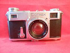 Contax Zeiss Icon mit Objektiv Carl Zeiss Jena Sonnar 1:2 f5 cm