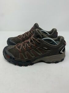 The North Face Ultra 109 Mens Sz 11 Hiking Running Trail Shoes Brown Gor-Tex