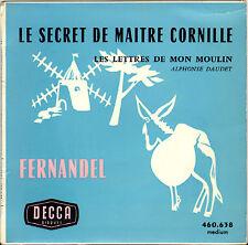 """FERNANDEL """"LE SECRET DE MAITRE CORNILLE"""" 60'S EP DECCA 460.638"""