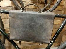 ancien velo 1900 sac de cadre, sacosche velo