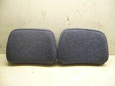 Volvo 240 740 Pair of Rear Headrest Covers /Pads in Blue