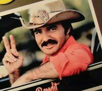 "Burt Reynolds hat black /& white Refrigerator Magnets Size 2.5/"" x 3.5/"""