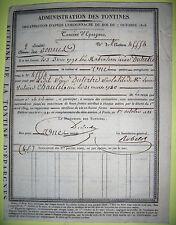 TONTINE EPARGNE 1822