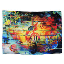 Colorful Music Note Tapestry Art Wall Hanging Tapestry Room Bedspread Home Decor