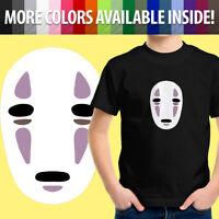 Spirited Away Studio Ghibli Kaonashi No Face Anime Toddler Kids Boy Tee T-Shirt