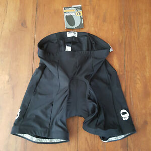 Pearl Izumi Womens Large Cycling Shorts Attack Compression Padded L Black NWT