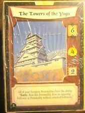 Legend of Five Rings L5R Honor Bound TOWERS OF THE YOGO 60-Card Starter Deck NEW