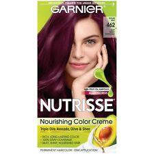 Garnier Nutrisse Nourishing Hair Color Creme, 462 Dark Berry Burgundy...