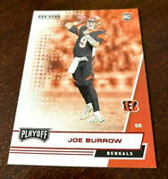 "JOE BURROW 2020 Goal Line ""RED"" SSP ROOKIE RC #201 LSU Cincinnati Bengals ""RARE"""