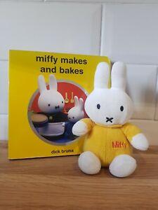 Miffy Beanie  Plush & Book Disk Bruna