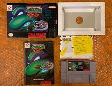 TMNT (Teenage Mutant Ninja Turtles): Tournament Fighters (Super Nintendo / SNES)