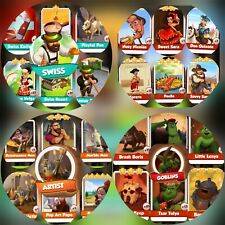 ArTist & Goblins & Swiss & Spain Full Sets### Coin Master Cards