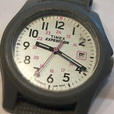 Older Vtg Timex Women's Expedition Indiglo WR50m Wrist Watch Needs Battery