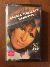747 Saudi Arabia Barbra Streisand Memories Cassette Free US Shipping
