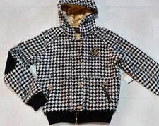 NEW WITH TAG WOMENS ROCAWEAR 50% WOOL WINTER JACKET WITH HOOD SIZE S