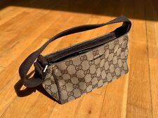 Original Gucci Tasche Klein / Bag, Pochette, GG Canvas / Gebrauchter Zustand