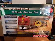 Kato N Scale Starter Set Santa Fe Super Chief 106-0018