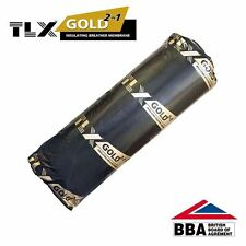 TLX Gold Thinsulex Multifoil Thermal Insulation & Breather Felt | 1.2m x 10m