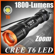 Mini Torcia a LED 12W Ricaricabile con Zoom fino a 500mt  / Ultrafire XM-L T6 V2