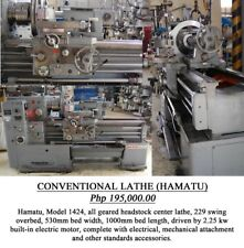Hamatu model 1424 Conventional Lathe