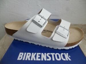 Birkenstock Mules Arizona Mules Sandals Slippers White 051131 New
