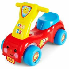 FISHER PRICE LIL' SCOOT 'N RIDE 8338 - NEW RIDE ON TOY SCCOTER CONTROLS SOUND