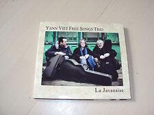 CD  YANN VIET FREE SONGS TRIO  la javanaise