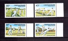 CHRISTMAS ISLAND 1984 cricket set MUH