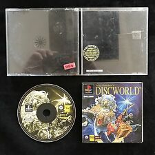 PS1 Discworld Terry Pratchett's OVP Sony Playstation 1 #PS1#01033